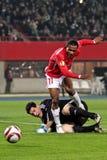 SK Rapid vs. Hapoel Tel Aviv Royalty Free Stock Photo
