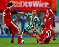 SK Rapid vs. Liverpool FC Royalty Free Stock Photography