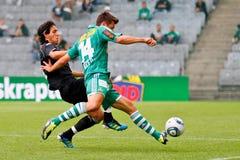 SK Rapid vs. Valencia FC Royalty Free Stock Photography