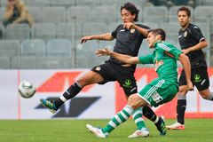 SK Rapid vs. Valencia FC Royalty Free Stock Photo