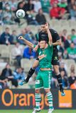 SK Rapid vs. Valencia FC Royalty Free Stock Photos