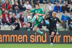 SK Rapid vs. Valencia FC Stock Photos