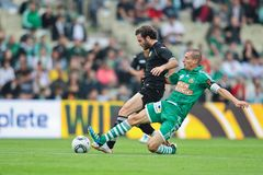 SK Rapid vs. Valencia FC Royalty Free Stock Photography