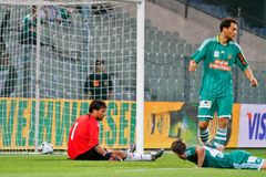 SK Rapid vs. Valencia FC Stock Photography