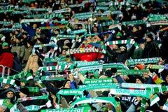 SK Snel versus Keltisch Glasgow F.C. stock afbeelding