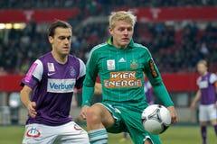 SK Snel versus Oostenrijk Wien stock foto