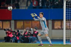 SK Snel versus Oostenrijk Wien stock foto's