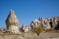 Skał miejsca Cappadocia obraz stock