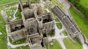 Skała Cashel w Irlandia z góry zbiory wideo