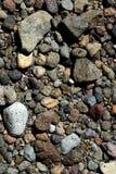 skała ogniowa wulkanicznej tło Zdjęcie Royalty Free