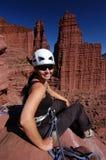 skała wspinaczkowa zdjęcie stock
