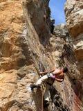 skała wspinaczkowa Zdjęcie Royalty Free