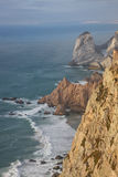 Skały Cabo da Roca (przylądek Roca) Zdjęcie Royalty Free