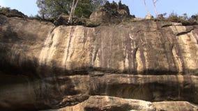 Skały, głazy, geologia, cedziny, natura zdjęcie wideo