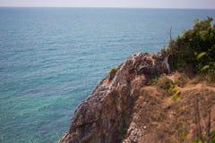 Skały i morze †‹â€ ‹piękny morze †‹â€ ‹Azja Zdjęcia Stock