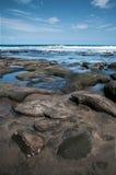 Skały i wybrzeże Zdjęcie Stock
