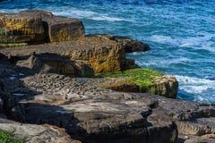 Skały i wybrzeże Zdjęcie Royalty Free