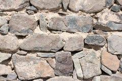 Skały izolują naturalne ciężkie skały tapetowych cegły i Kamienie, cegły i Obraz Stock