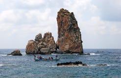 Skały morze śródziemnomorskie Obraz Stock