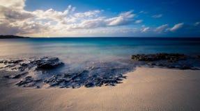 Skały na graci zatoki plaży Obrazy Royalty Free