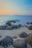 Skały Punggol Plażowy -1 Fotografia Stock