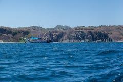 Skały w Fernando De Noronha wyspie Fotografia Royalty Free