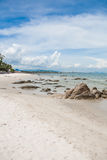 Skały w plaży Obraz Stock