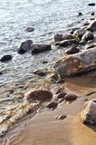 skały woda zdjęcie stock