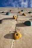 skały wspinaczkowa ściana Fotografia Royalty Free