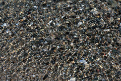skały zakrywająca woda Zdjęcia Stock