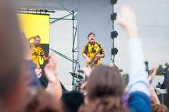 Ska-Band Live Lizenzfreie Stockbilder