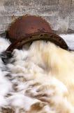 Skażenie wody Obrazy Royalty Free