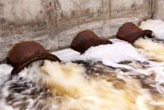Skażenie wody Zdjęcie Stock