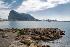 Skała Gibraltar Zdjęcie Stock