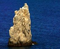 Skała i morze Obraz Royalty Free