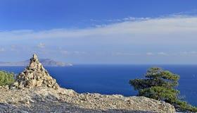 Skała i morze Fotografia Stock