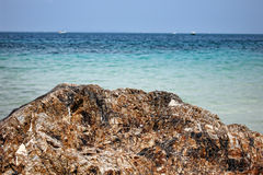 Skała i morze Obrazy Stock
