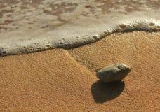 Skała i piasek Zdjęcia Stock