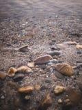 Skała i rzeka Zdjęcia Stock