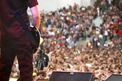 skała koncertowa Fotografia Royalty Free
