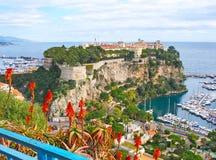 Skała Monaco Obraz Royalty Free