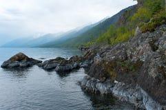 skała na Baikal jeziorze, Rosja obrazy royalty free