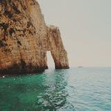Skała na morzu Obraz Royalty Free