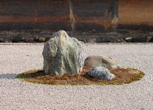 skała ogrodowa Zdjęcie Royalty Free