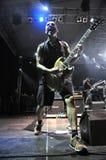 Ska-P ska punk rock zespół od Hiszpania wykonuje żywego na scenie Obrazy Royalty Free