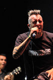 Ska-P ska punk rock zespół od Hiszpania wykonuje żywego na scenie Obrazy Stock