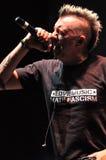 Ska-P ska punk rock zespół od Hiszpania wykonuje żywego na scenie Zdjęcie Royalty Free