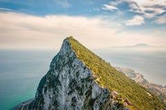 Skała w Gibraltar Zdjęcie Royalty Free
