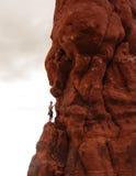 skała wspinaczkowa Obraz Royalty Free