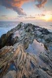 Skały formacja w Kalifornia Fotografia Royalty Free